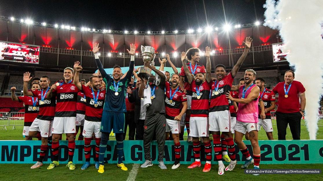 Com gols de Michael e Vitinho, Flamengo é campeão da Taça Guanabara