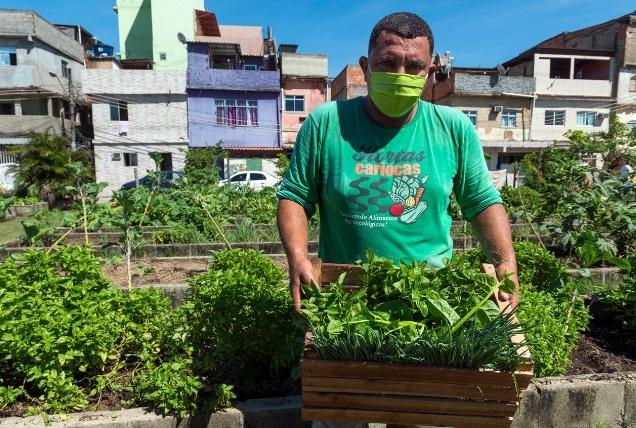 Nota do Baía Viva sobre a tentativa de destruição dos Programas Hortas Cariocas e do Mutirão Reflorestamento