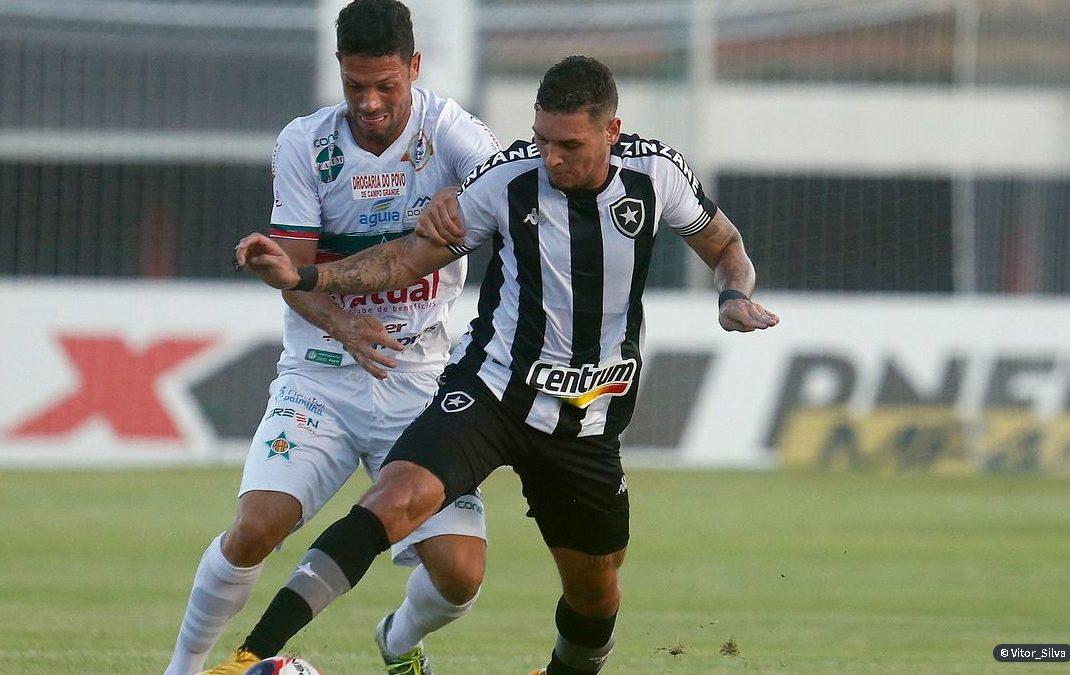 Botafogo e Portuguesa empatam em Mesquita