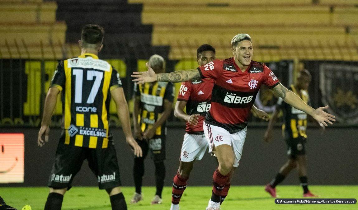 Cariocão: Pedro marca três e Flamengo vence Volta Redonda