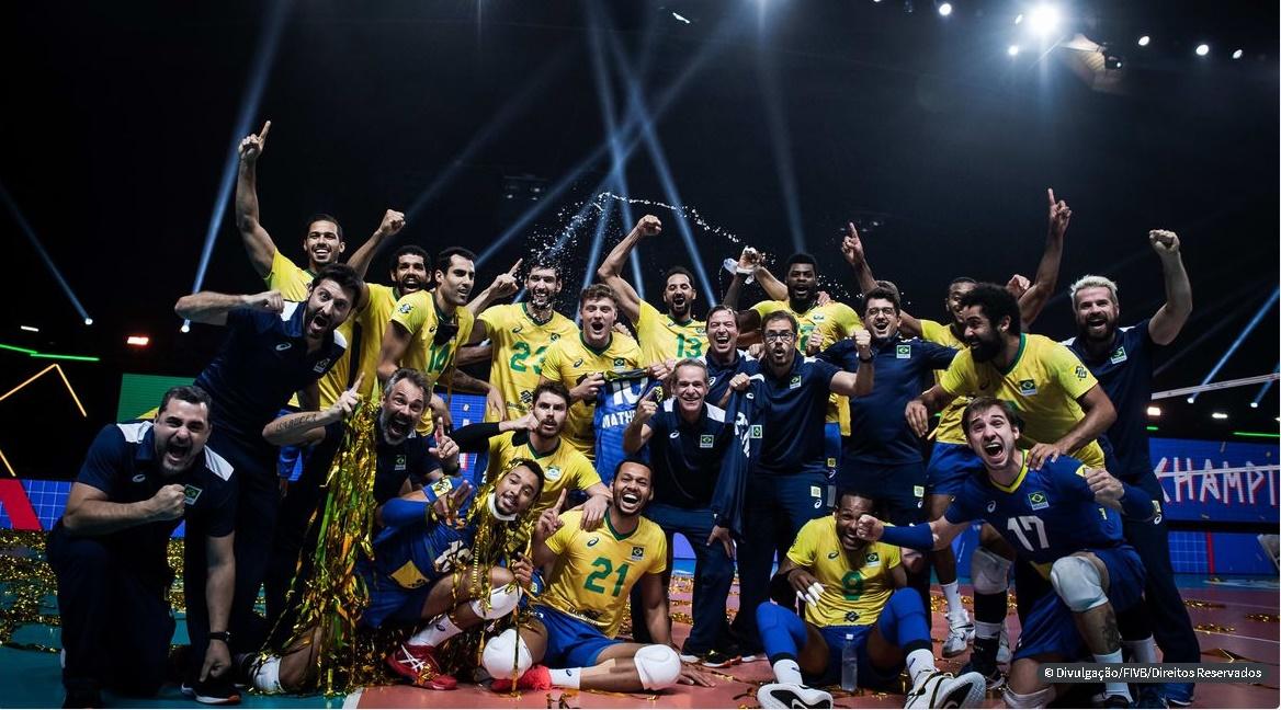 Brasil bate Polônia e conquista Liga das Nações de vôlei