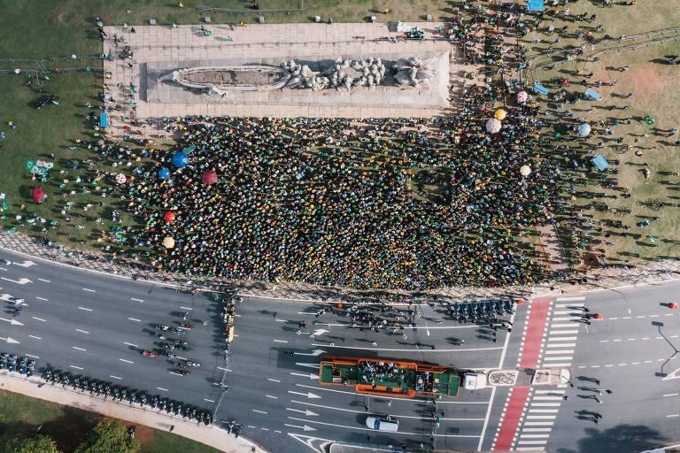 Ação contesta R$ 75 mil destinados pela Prefeitura de SP à motociata de Bolsonaro