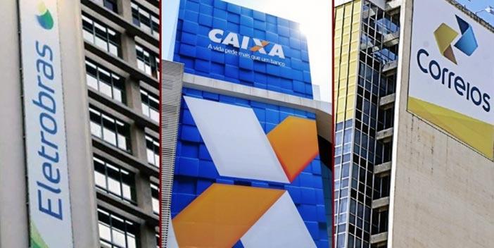 Na mira da privatização, Eletrobras, Correios e Caixa deram lucro de R$ 21 bilhões