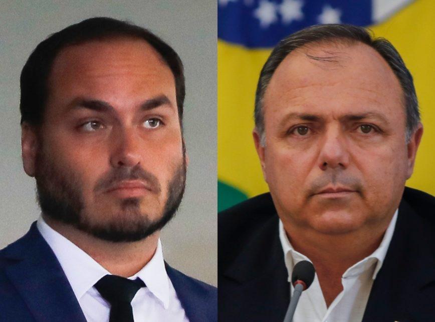 CPI votará quebra de sigilo de Carlos Bolsonaro e Pazuello