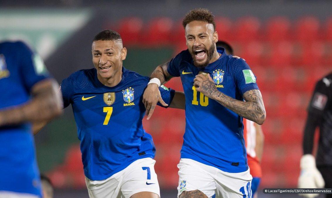 Eliminatórias: Brasil vence Paraguai, dispara na liderança e derruba tabu de 35 anos