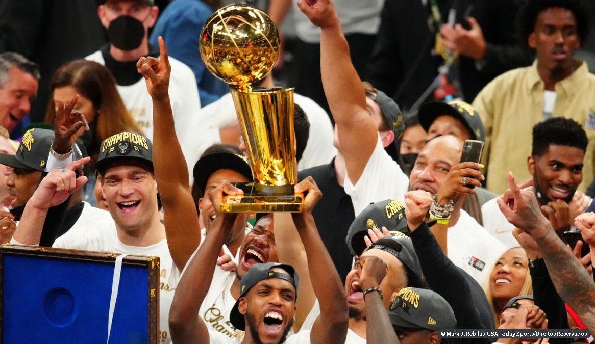 Milwaukee Bucks conquista título da NBA