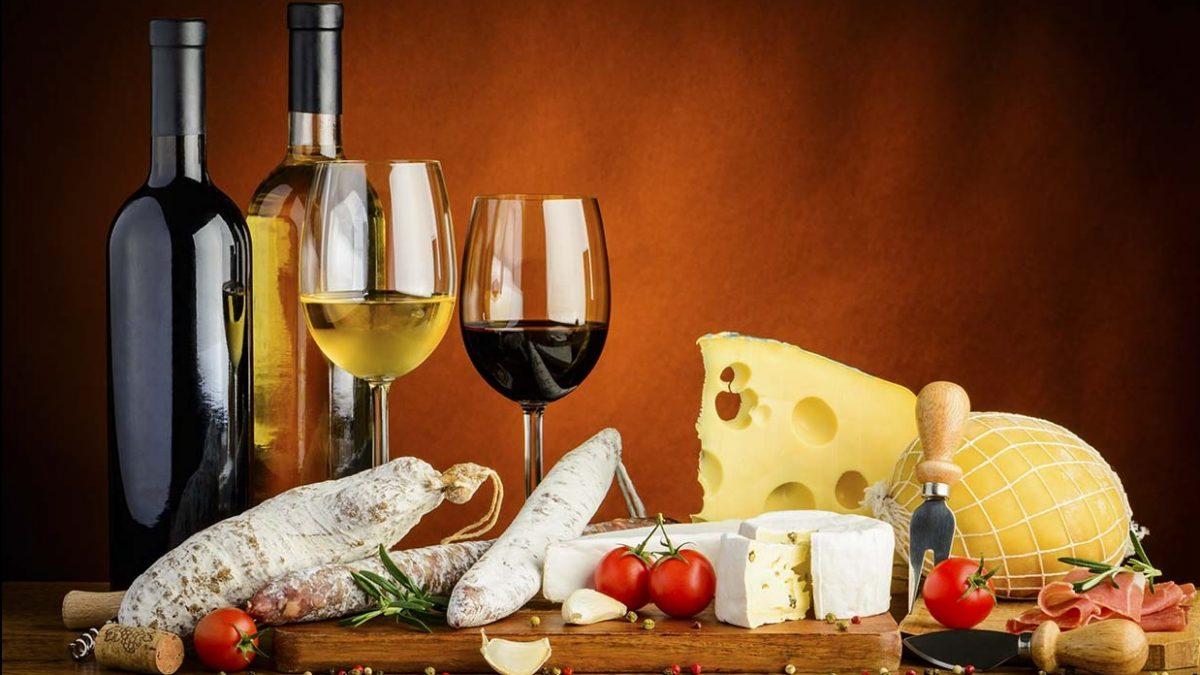 Harmonização de vinhos e comidas
