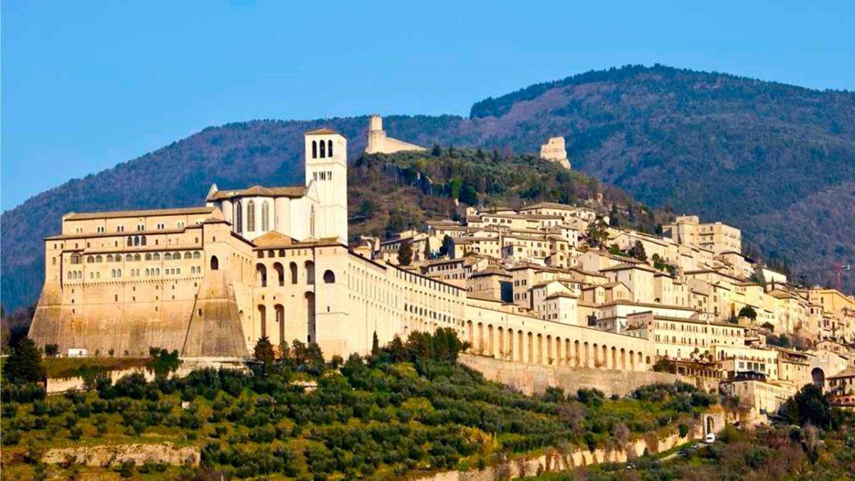 As belas regiões da Itália central