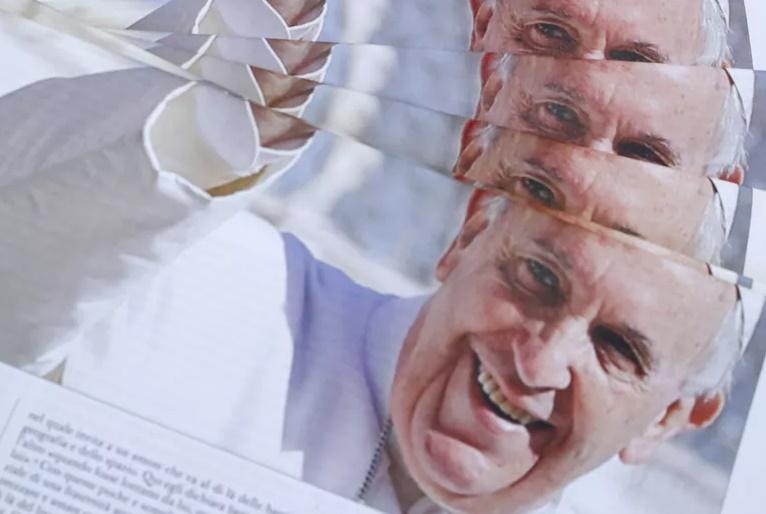 O diabo do Papa Francisco na base do estouro das bolsas