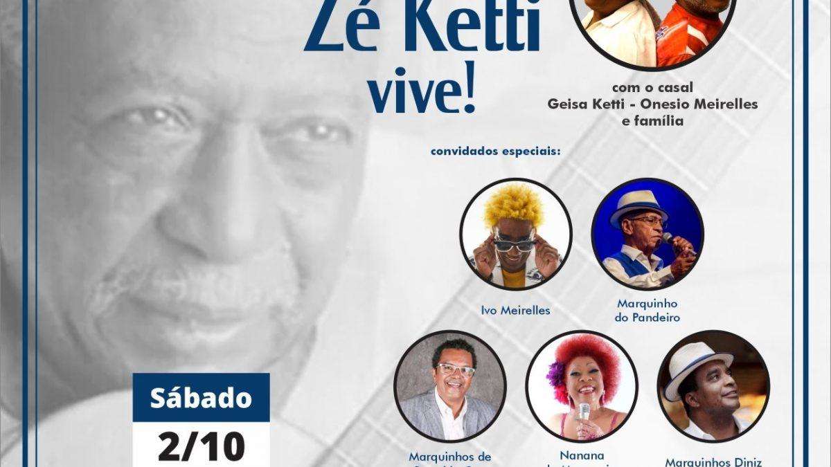 100 anos de Zé Ketti vive! Show presencial, dia 2 no Teatro Rival Refit