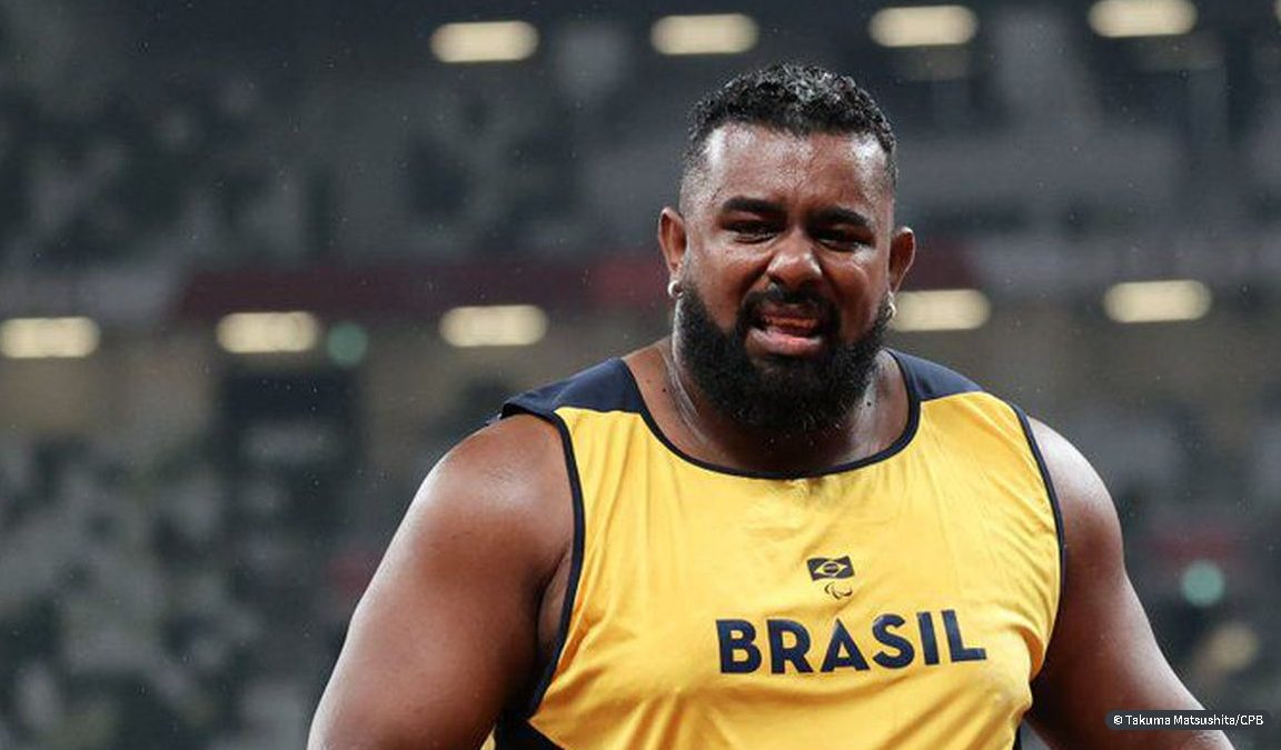 Jogos Paralímpicos: Thiago Paulino é ouro e Marco Aurélio é bronze no arremesso de peso