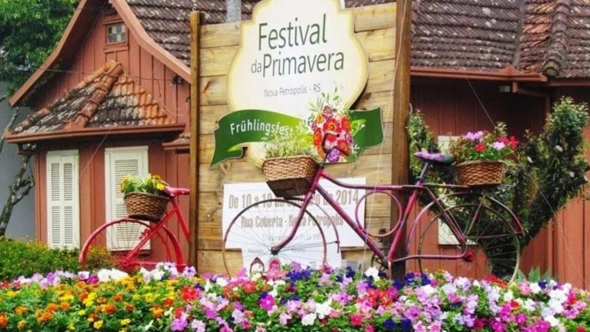 Prefeitura de Nova Petrópolis (RS) inicia a instalação de bicicletários e planejamento visando o Festival da Primavera